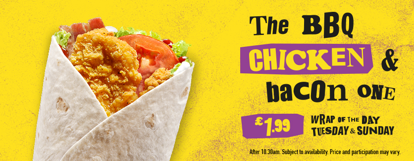 McDonald's Deli of the Day Posted on August 29, by admin One of McDonald's best, and quietest promotions is the deli of the day, now called Wrap of the day. each day you can get the designated deli wrap or sandwich for £, or a medium meal for just £