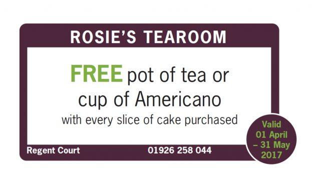 Rosie's tearoom