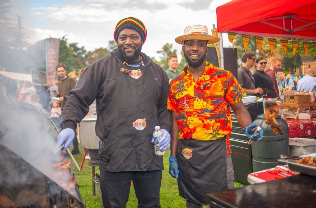 Leamington Food and Drink Festival was a sorching success!