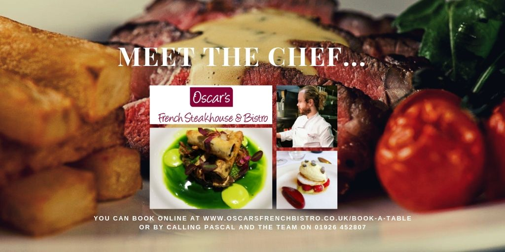 Meet the Chef for August…..