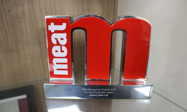 Aubrey Allen Are Winners At Meat Management Awards 2020.